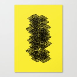 Feathered spine Canvas Print