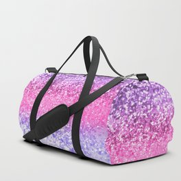 Unicorn Girls Glitter #6 #shiny #decor #art #society6 Duffle Bag