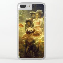 Sadko by Ilya Repin, 1876 Clear iPhone Case