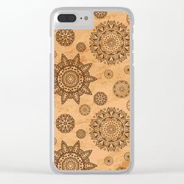 format decorated Clear iPhone Case