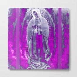 Virgen De Guadalupe Metal Print