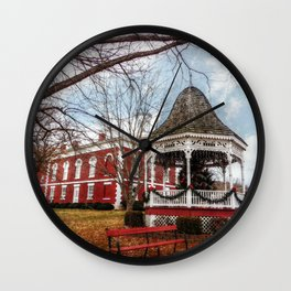 Iron County Courthouse and Gazebo Wall Clock
