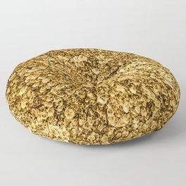 Golden Treasure Floor Pillow