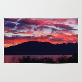 Sunrise at Utah Lake Rug
