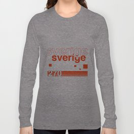Sweden stamp  Long Sleeve T-shirt