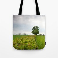 irish Tote Bags featuring Irish landscape by Aaron MacDougall