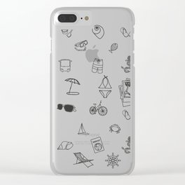 066 Travel Clear iPhone Case