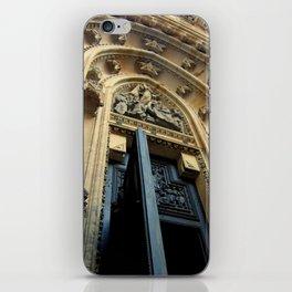 Cathedral Door iPhone Skin