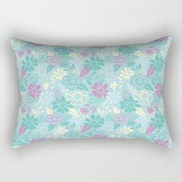 Sky of Flowers Rectangular Pillow