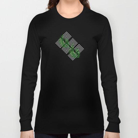 Geometries & Palms #society6 #decor #buyart Long Sleeve T-shirt