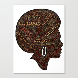 afro american Canvas Print