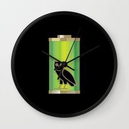 Charged Up Wall Clock