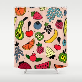 Fruity pattern Shower Curtain