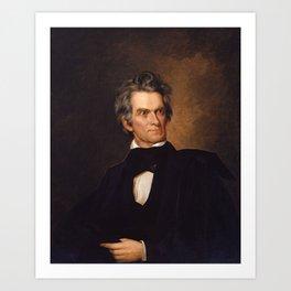 John C. Calhoun Art Print