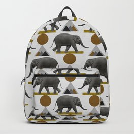 Tribal Elephant Backpack