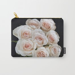 Rose Buds Carry-All Pouch