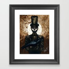 Shadow Man 2 Framed Art Print