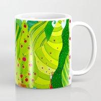 rapunzel Mugs featuring Rapunzel by Sandra Nascimento