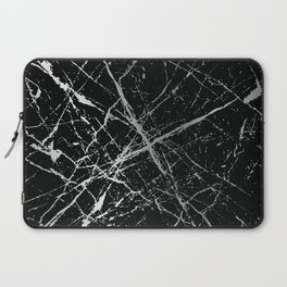 Silver Splatter 090 Laptop Sleeve