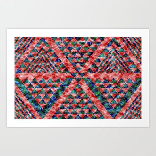 Colores Loco Art Print