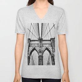 Brooklyn Bridge x Unisex V-Neck