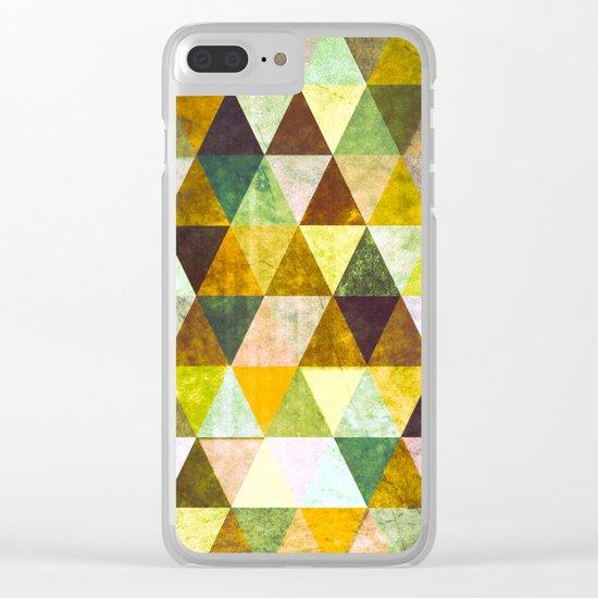 Abstract #388 Cailin Rua Clear iPhone Case