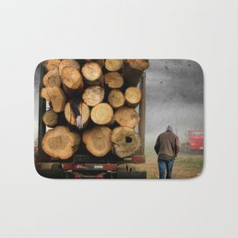 3's A Crowd Bath Mat