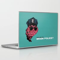 zappa Laptop & iPad Skins featuring Who are the Brain Police? by holaf