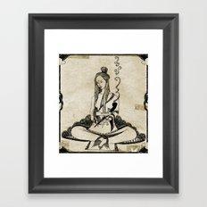 Shanti Framed Art Print