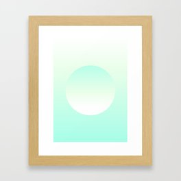 Turquoise dream Framed Art Print