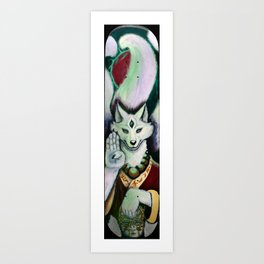 Koan (Skateboard Print) Art Print