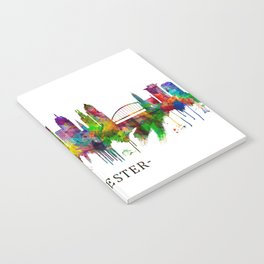 Rochester New York Skyline Notebook