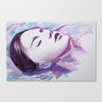 siren Canvas Prints featuring Siren by Arielle Walker
