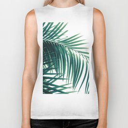 Palm Leaves Green Vibes #6 #tropical #decor #art #society6 Biker Tank