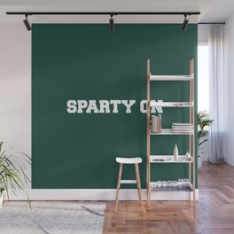 Sparty On Wall Mural