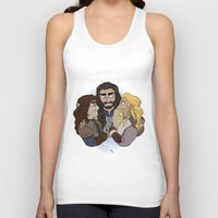 thorin Tank Tops featuring Thorin, Fíli and Kíli by BlueSparkle