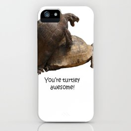 You're Turtley Awesome iPhone Case