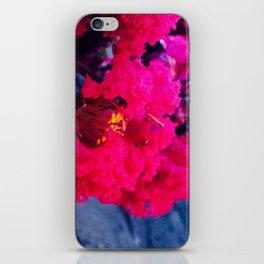 Pretty in Pink Crape Myrtle iPhone Skin