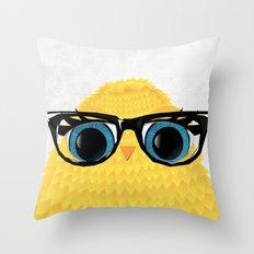 Nerd Chick Throw Pillow