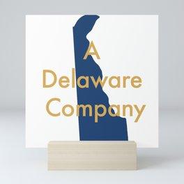 A Delaware Company Mini Art Print
