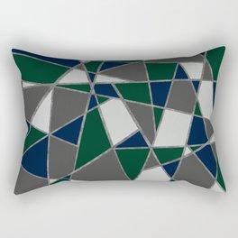 colors and shapes Rectangular Pillow