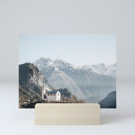 Dolomites by Day   Magnificent Dolomite Mountain Range, Italy Travel Photography, Saige Ashton Prints. Mini Art Print