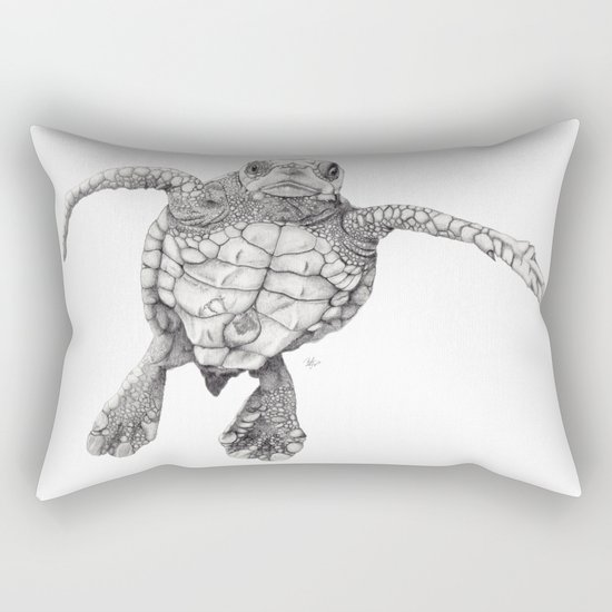 Chelonioidea (the turtle) Rectangular Pillow
