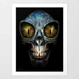 ALIEN NIGHTMARE Art Print
