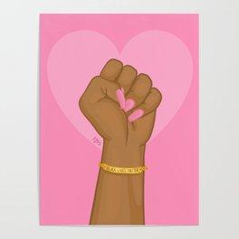 Black Lives Matter Power Fist Poster