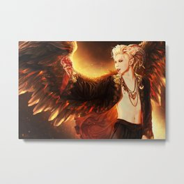 Demon King Taemin Metal Print