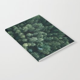 Forest from above - Landscape Photography Notebook