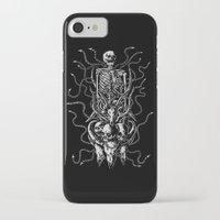 bondage iPhone & iPod Cases featuring Cruel bondage by sebrodbrick