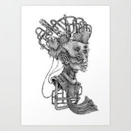 biomechanical sounds Art Print