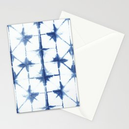 Shibori Diamonds Stationery Cards